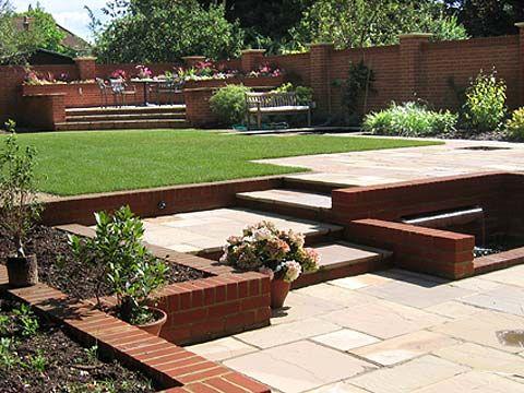 Garden Design Split Level Garden Pinterest Gardens And