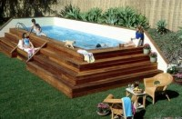 Shipping container swimming pool. | Swimming pool and ...