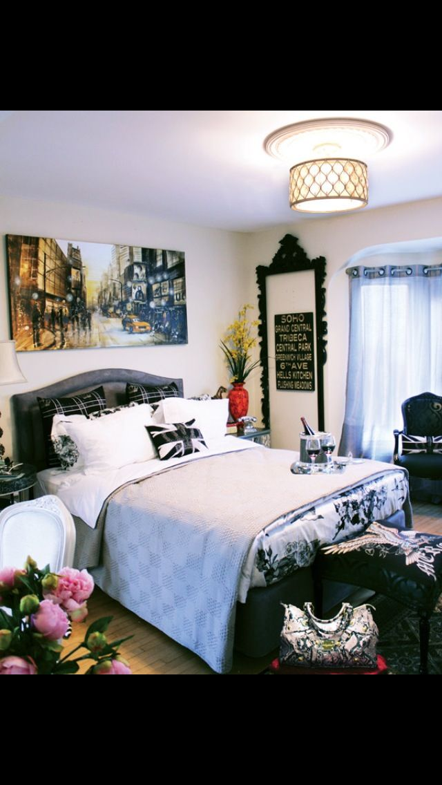 28 Best Teen Bedroom New York London Paris Images On