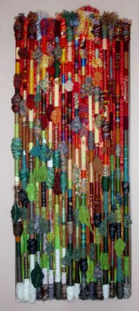 Fiber Art Wall Hanging - Fall in the Northland. Made by ...