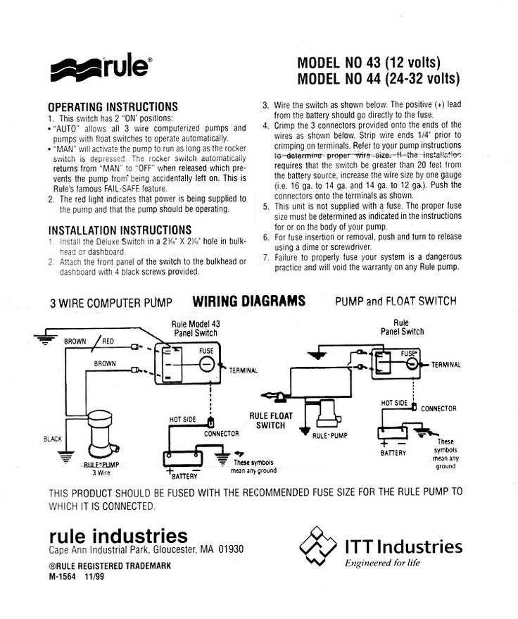 94868d5f0f37a419e15d117a4fb64ea2 bilge pump switch wiring diagram bilge wiring diagrams collection  at fashall.co