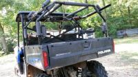 Pvc gun rack on 2012 polaris ranger 800 | guns | Pinterest ...