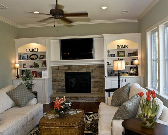 128 Best Images About Family Room On Pinterest House Plans