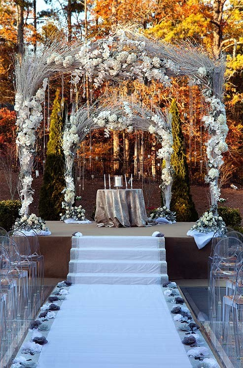 1000 Images About Outdoor Wedding Altar Ideas On Pinterest Garden Weddings Arches And Draping
