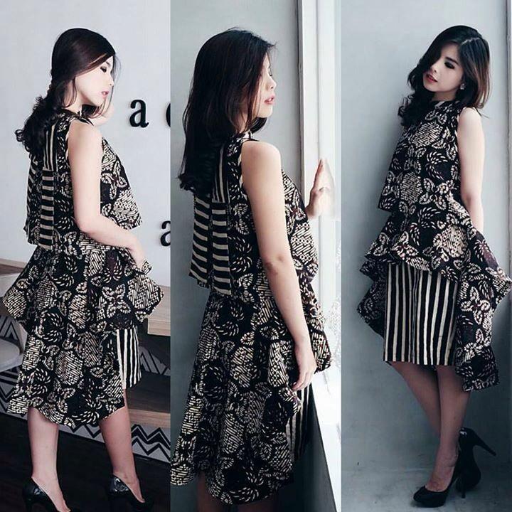 25 Best Images About Model Dress Modern Even Its Batik On