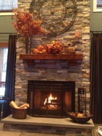 25+ best ideas about Fall mantels on Pinterest | Fall ...