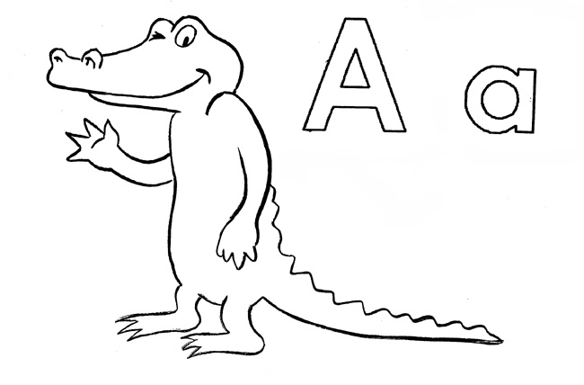 April The Alligator Printable Listen To The Story At