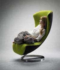 Comfortable Lounge Chair For Livingroom: Futuristic Design ...