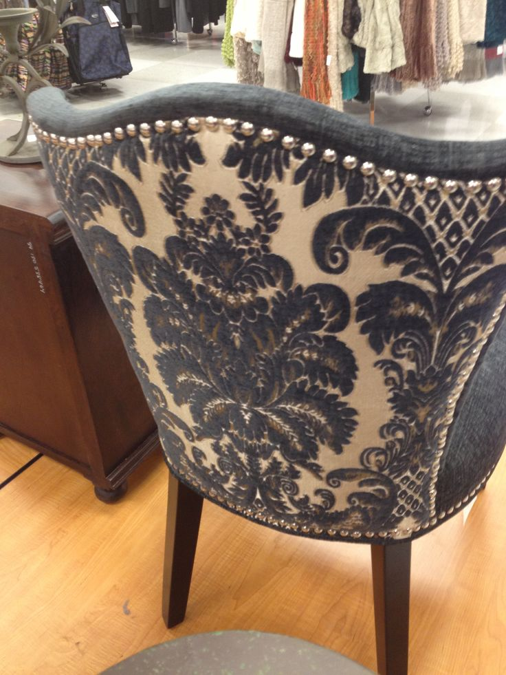 Cynthia Rowley Nailhead Accent Chair  Furniture