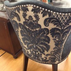 Cynthia Rowley Nailhead Accent Chair Acrylic Desk With Cushion | Dining Room Pinterest Chairs, And ...
