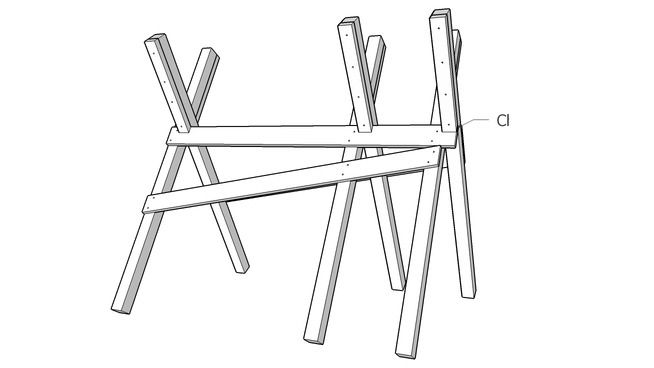 73 best images about Sawhorse Plans on Pinterest
