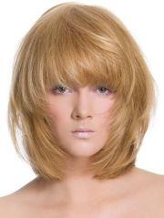 layered shag hairstyles glossy