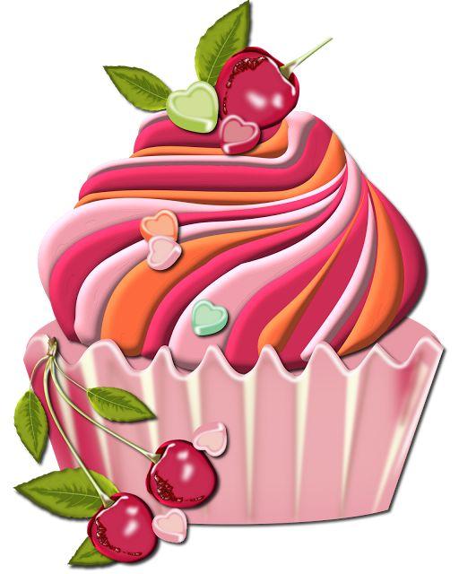 341 cupcake clipart