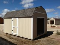 wood shed with roll up door ~ tuff shed designs