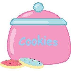 cute cliparts cookie jar