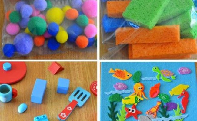7 Busy Bag Ideas For Toddlers Plays Activities And Pom Poms