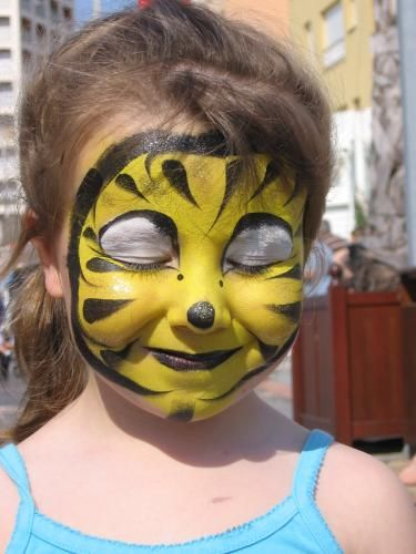 maquillage abeille  Google Search  Qui fait bzz  BEE PARTY  Pinterest  Search