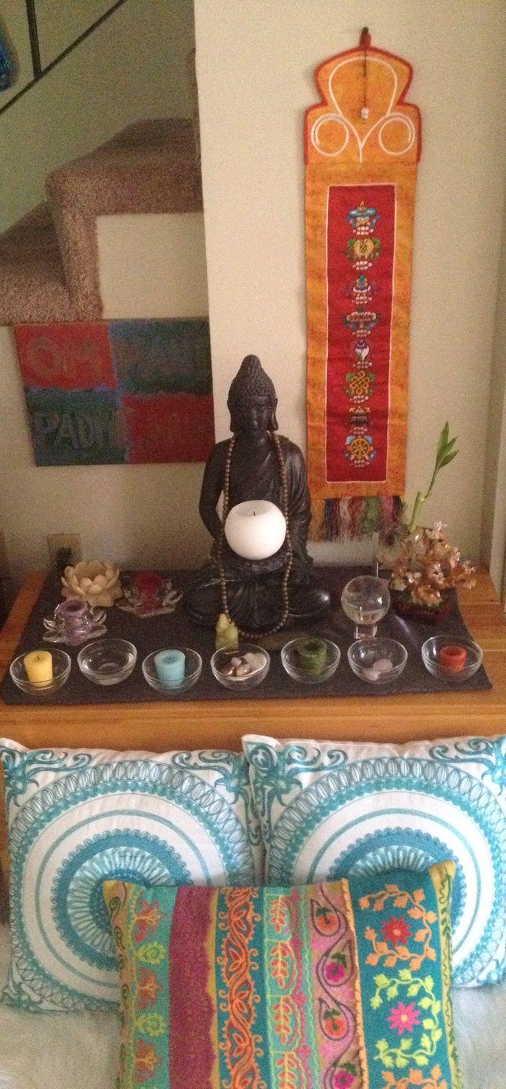 25 Best Ideas About Meditation Altar On Pinterest