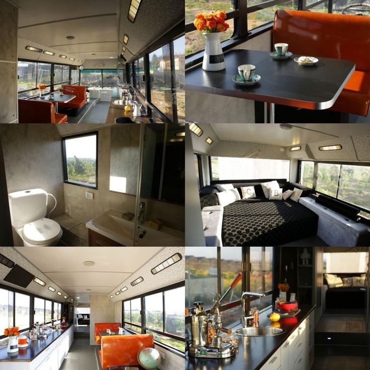 Wow Talk about a cool RV Camper bus conversion these