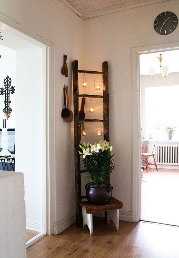 1000+ ideas about Old Ladder Decor on Pinterest