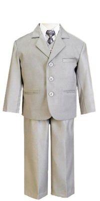 Lito 5-Piece Infant & Boy's Suit with Shirt, Vest, and Tie ...