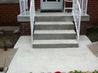 Concrete Front Porch Steps Klslsh | Exteriors | Pinterest ...