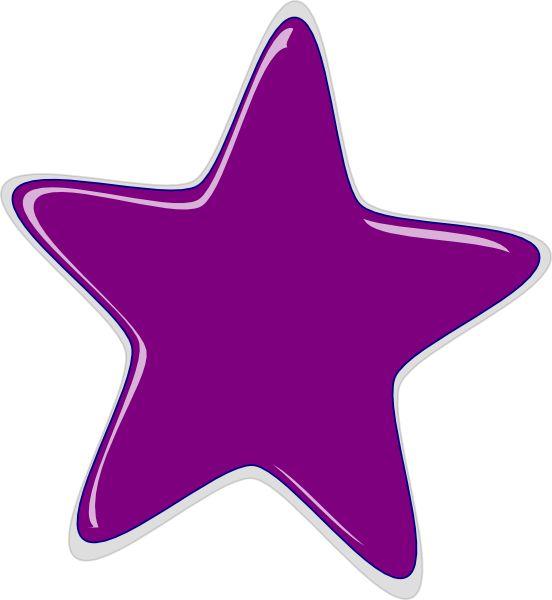 purple star clip
