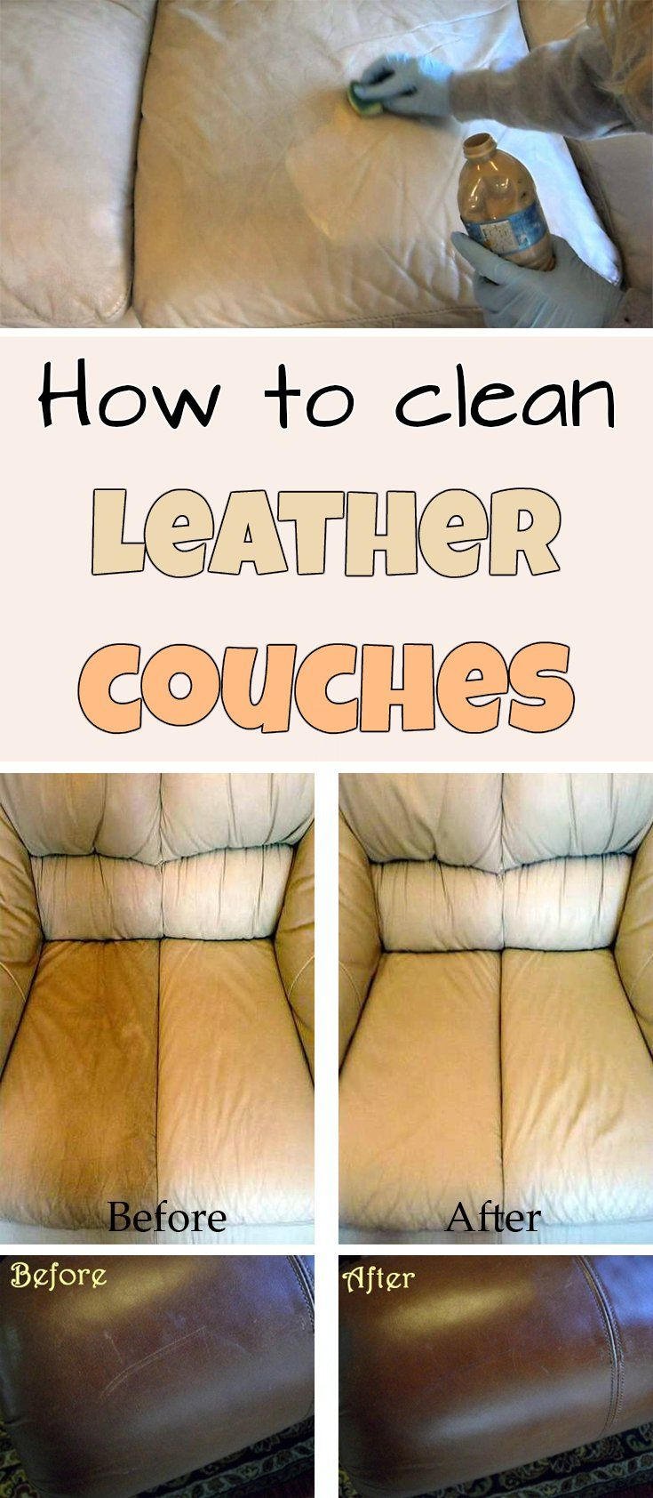 The 25 Best Leather Couch Cleaning Ideas On Pinterest Cleaning