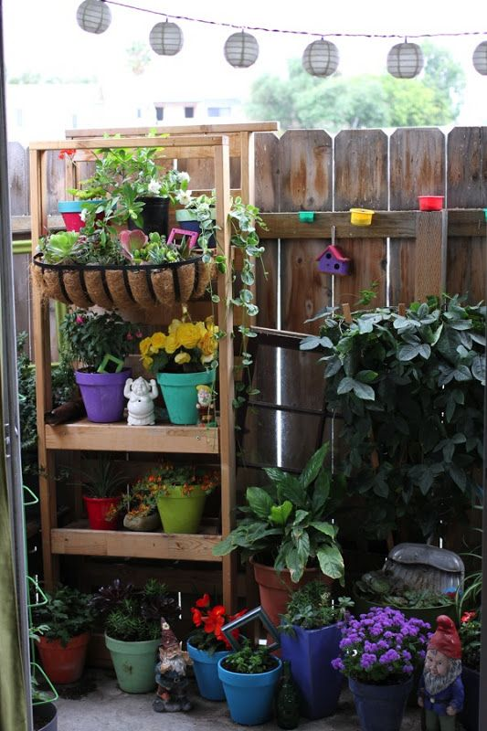73 Best Images About Small Deck Gardening & Decorating On