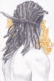 dreads. guy