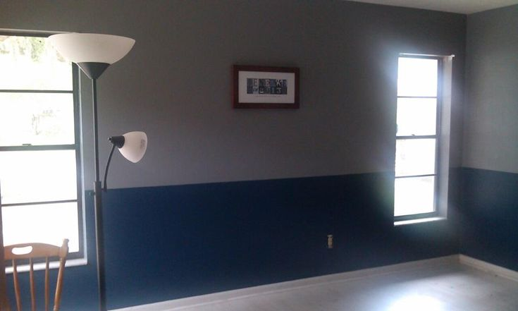 living room decor with grey walls small layout fireplace and tv gray blue two toned wall in my room. i'm gonna ...
