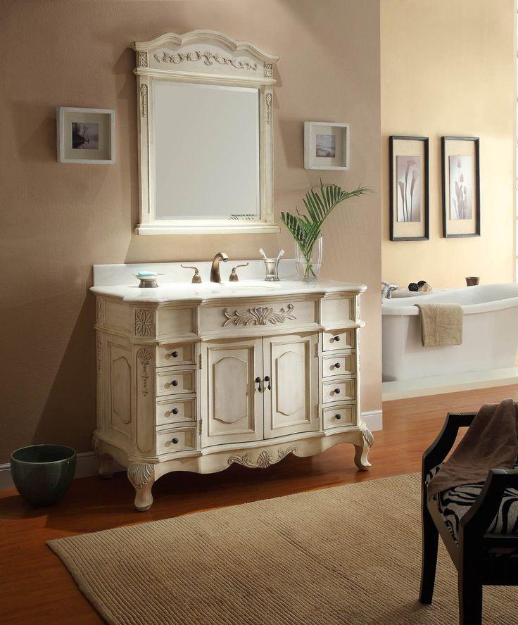 French Provincial Bathroom Vanities Online  Le Bain  Pinterest  French Bathroom vanities and