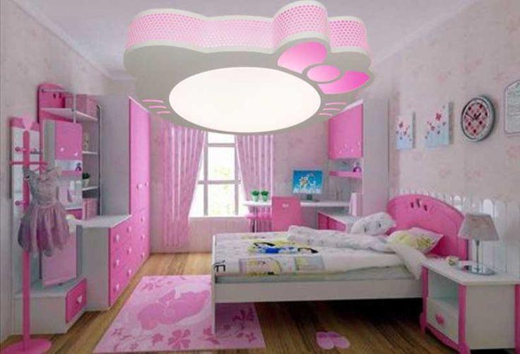 Plafonnier chambre fille installation avec ide papier peint chambre ado fille et meuble complet