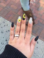 sun flower nail design cute strips