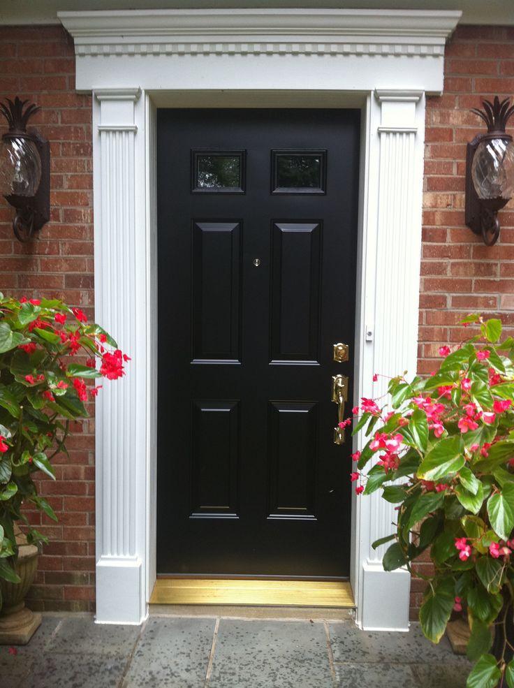 17 Best ideas about Exterior Door Trim on Pinterest