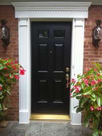 17 Best ideas about Exterior Door Trim on Pinterest
