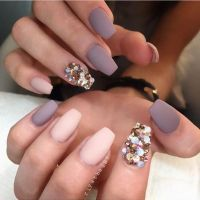 25+ best ideas about Gem Nails on Pinterest | Indian nail ...