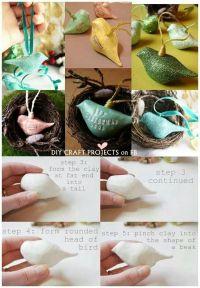 25+ Best Ideas about Clay Birds on Pinterest   Bird ...
