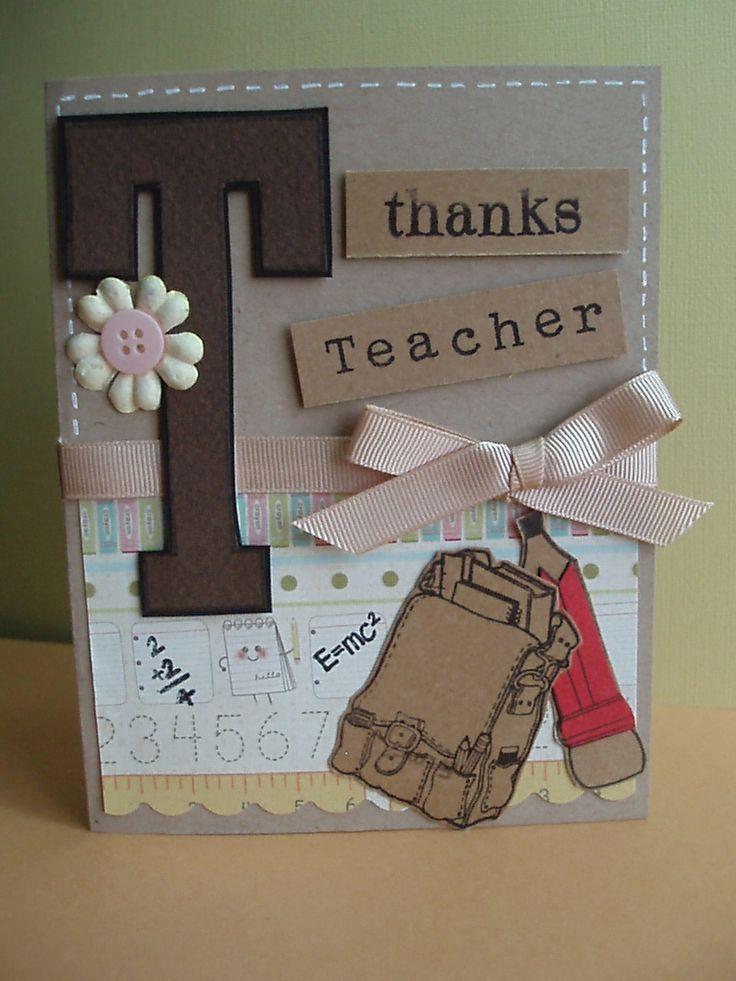 25 Best Ideas About Teachers Day Card On Pinterest