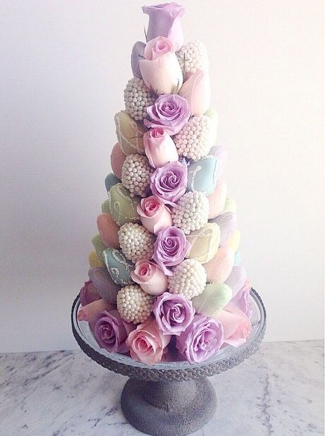 Strawberry Tower Food And Drink Pinterest Strawberry