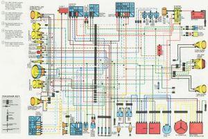 Honda CX500 WiringDiagram | cx500 | Pinterest | Honda