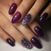 ideas purple nail