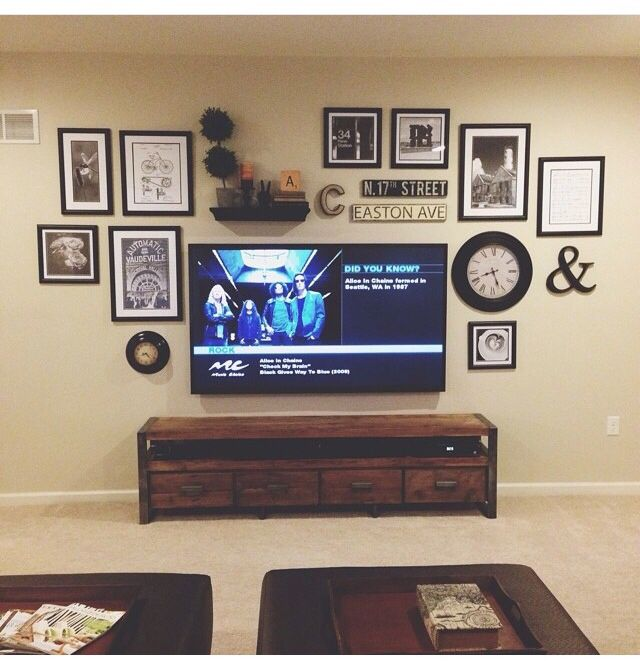 Family Room Tv Wall Ideas