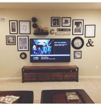 Best 25+ Wall behind tv ideas on Pinterest