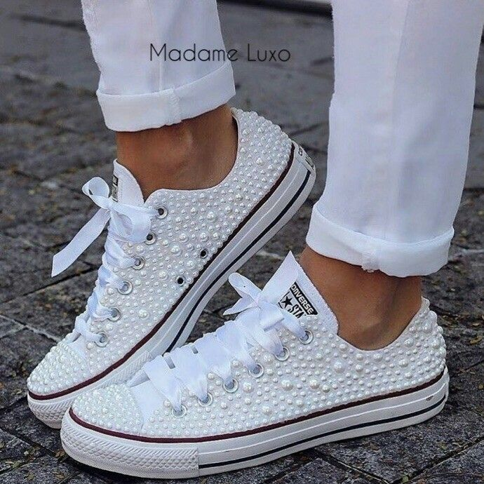 Best 25 Bedazzled converse ideas on Pinterest