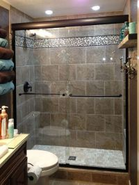 Upstairs bath conversion from tub/shower to shower with ...
