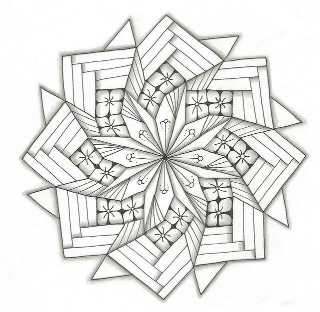 1000+ images about Zentangle Quilt Blocks on Pinterest