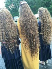 long curly hair ideas