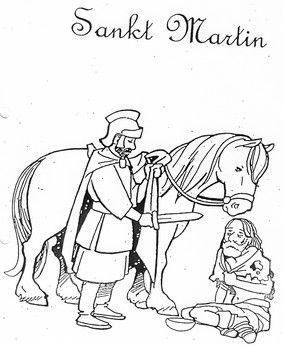 St Martin St Martin of Tours Pinterest Coloring