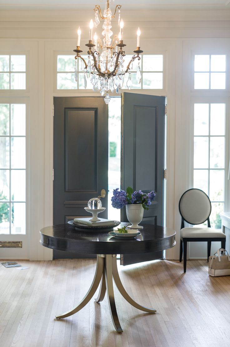 17 Best ideas about Round Foyer Table on Pinterest  Round entry table Entrance foyer and